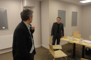 Zbigniew Zamachowski i Robert Gonera