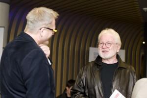 prof. Andrzej Krakowski i Tomasz Raczek. Fot. Adam Hojka