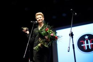 """Małgorzata Kożuchowska, nagroda za kreację w serialu filmowym """"Rodzinka.pl"""""""