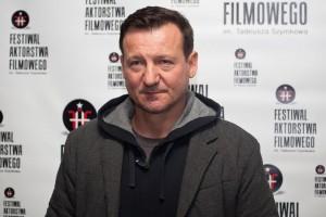 """Robert Więckiewicz, nagroda specjalna """"Pod mocnym aniołem"""" 3. FAF"""