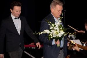 """Bronisław Cieślak,nagroda za kreację w serialu telewizyjnym """"07 zgłoś się"""" 3.FAF"""
