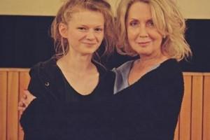 Joanna Smolińska (po lewej),najlepsza uczestniczka warsztatów aktorskich 4. FAF